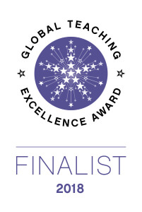 Global Teaching Excellence Award Finalist 2018 logo